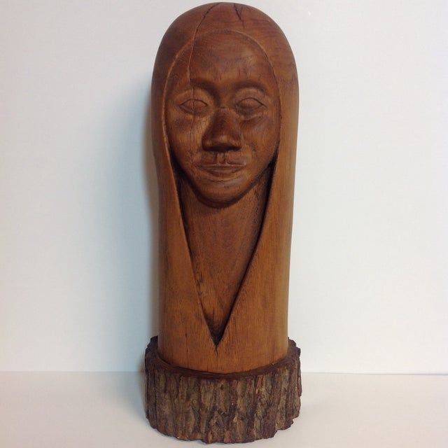 Image of Mid-Century South American Figural Wood Carving