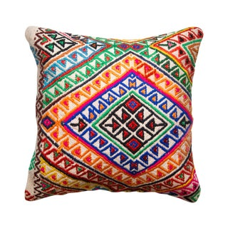 Geometric Turkish Kilim Pillowcase
