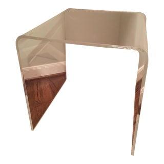 Plexi-Craft Clear Acryllic Side Table