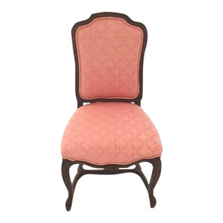 Original Rococo Pink French Dining Chairs - 6