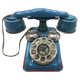 Gong Bell Vintage Toy Voice Phone
