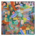"Image of Peter Konsterlie ""Untitled 1"" Acrylic Painting"