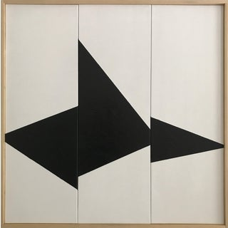 Black on Point Triptych - Jet0447