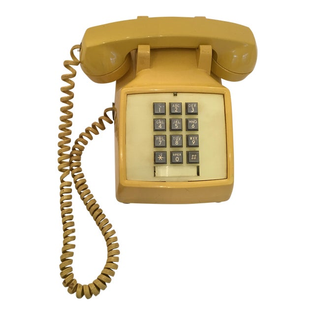 Vintage Bell Western Yellow Desktop Telphone - Image 1 of 9
