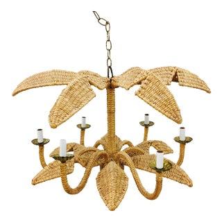 Mario Lopez Torres Palm Leaf Chandelier