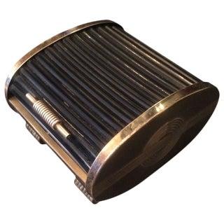 Retractable/Tambour Style Door Brass Box