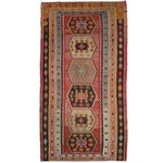 Image of Vintage Turkish Kilim Rug - 7' X 13'3""
