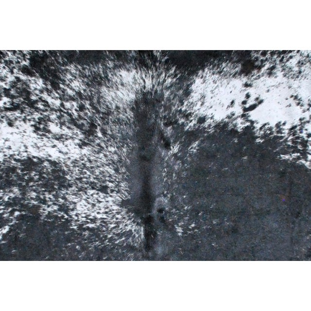 Black, Gray and White Cowhide Rug - Image 2 of 2