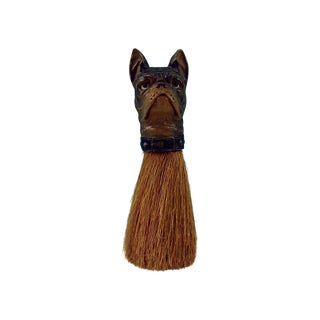 Vintage French Bull Dog Clothes Brush
