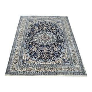 """Persian Silk Flower Carpet - 6'8"""" x 9'6"""""""