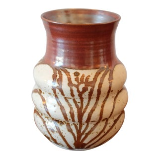 Glazed Studio Pottery Vessel