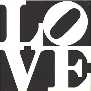 1968 Robert Indiana Love from Multiples Serigraph
