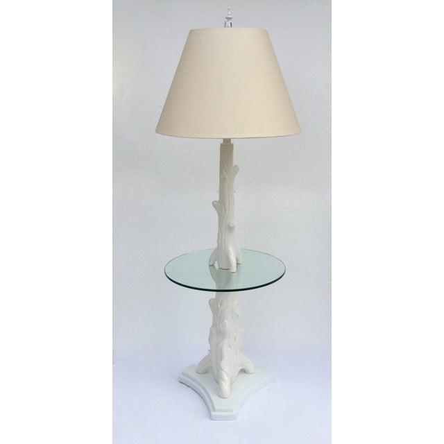 Mid-Century Porcelain Faux-Bois Floor Lamp - Image 11 of 11