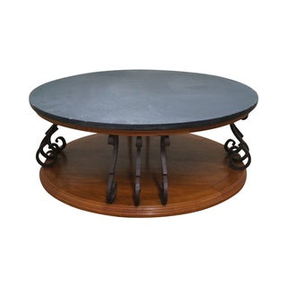 Heritage Mediterranean Slate Top Coffee Table