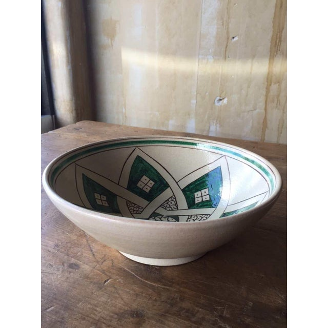 Image of Stella Hand Painted Serving Bowl