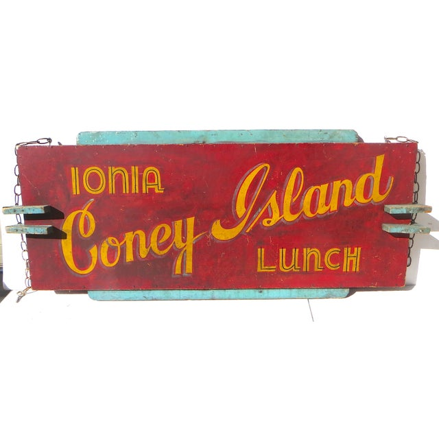 Coney Island Diner Sign - Image 3 of 5