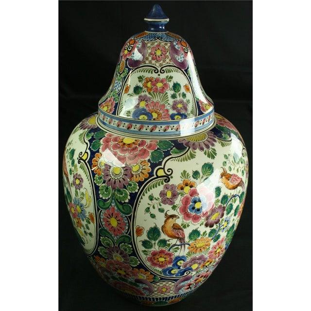 Large 1940s Vintage Majolica Ginger Jar - Image 8 of 8