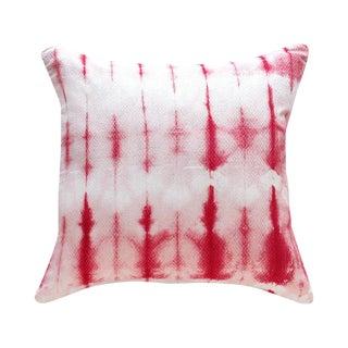 """Shibori Cherie Iii"" Tie-Dye Pillow"
