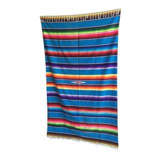 Southwestern Vintage Serape Textile