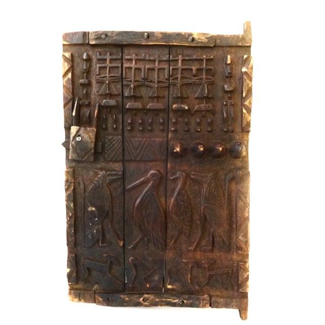 Image of Mali African Dogon Animal Figurine Door