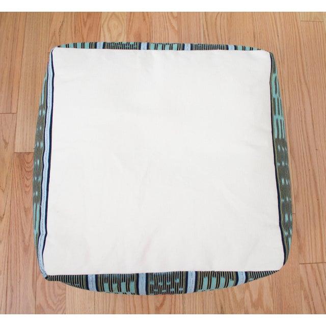 Vintage African Baule Cloth Pouf - Image 7 of 8