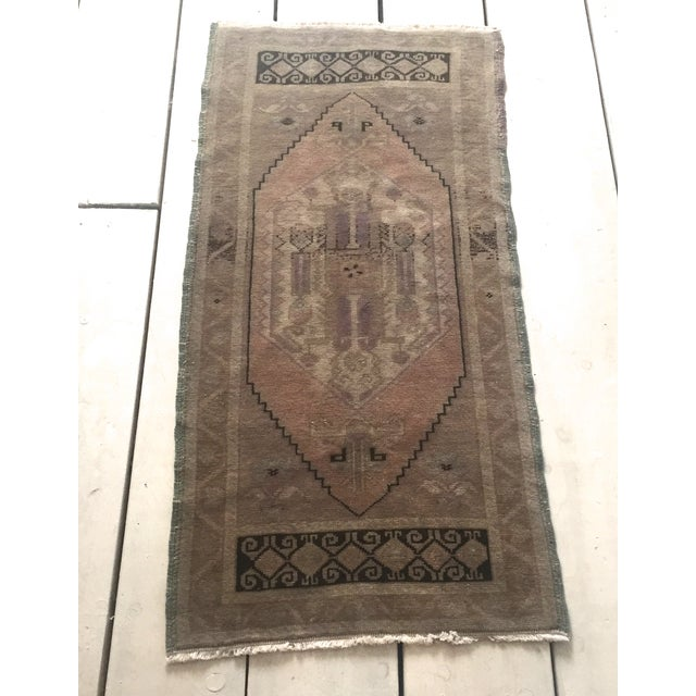 "Turkish Oushak Silk and Wool Rug - 1'8"" X 3'5"" - Image 4 of 8"