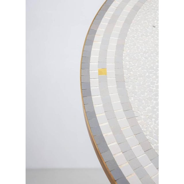 Berthold Muller Mosaic and Brass Coffee Table, Germany, 1960s - Image 6 of 9