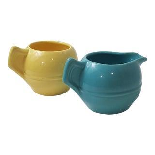 California Pottery Cream & Sugar Set - A Pair