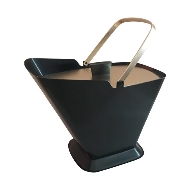West Bend Retro Black & Gold Ice Bucket - Image 1 of 9