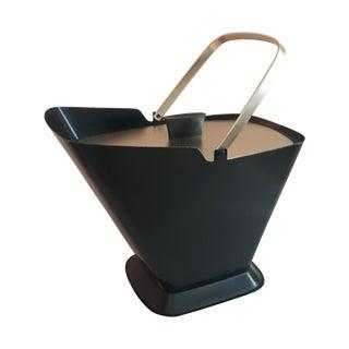West Bend Retro Black & Gold Ice Bucket