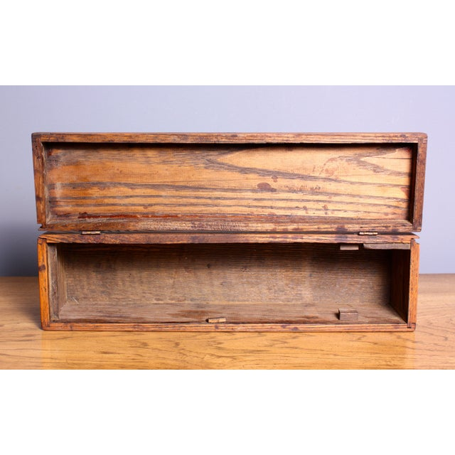 Late 1940s Elizabeth Bensley Wooden Box - Image 5 of 7