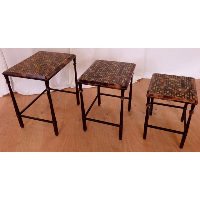 Hooker Furniture Nesting Table With Faux Marble Chairish