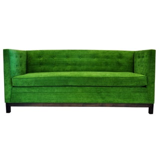 Velvet Kelly Green Couch