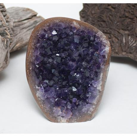 Amethyst Crystal & Wood Pieces - Set of 3 - Image 6 of 11