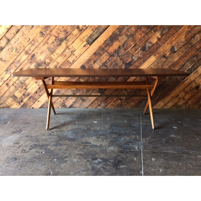 Mid-Century Danish Coffee Table by Ole Wanscher - Image 5 of 10