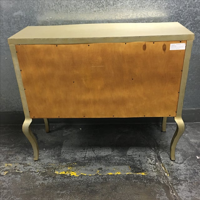 Two Drawer Dresser with Metallic Finish - Image 11 of 11