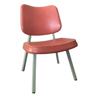 Mid-Century Modern Pink Office Chairs - A Pair