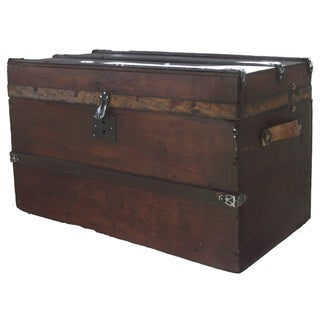 Antique Desk-Top Trunk