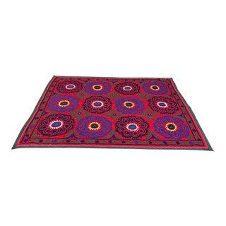 Vintage Red Suzani Textile