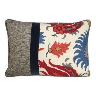 Kim Salmela Floral Patchwork Pillow