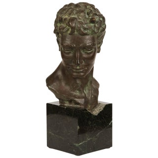 Bronze Bust of Pan