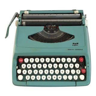 1960s Vintage Smith Corona Corsair Portable Working Typewriter