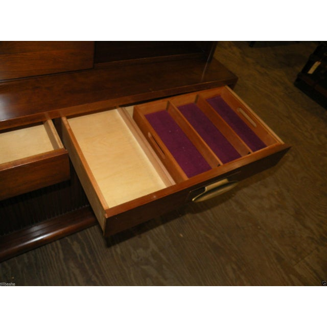 Willett Trans East Mid Century Bookcase Cabinet - Image 5 of 7