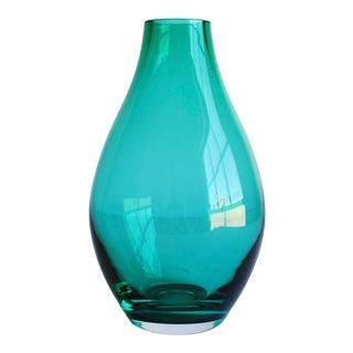 Teal Green Vase