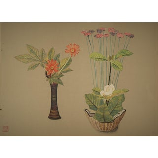 Japanese Botanical Arrangement Print
