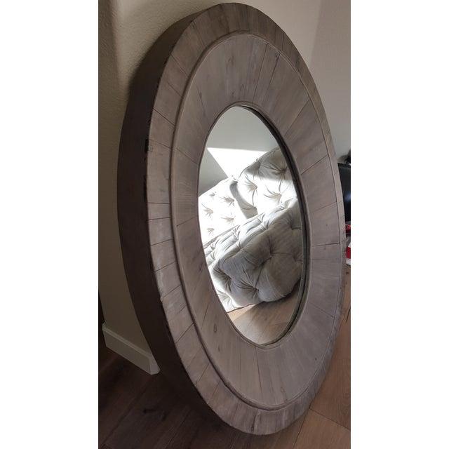 Image of Restoration Hardware Oval Pieced Mirror