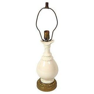 Ivory Ceramic Table Lamp