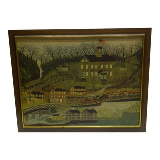 Vintage Manchester Valley - New Hope Pennsylvania Joseph Pickett Print