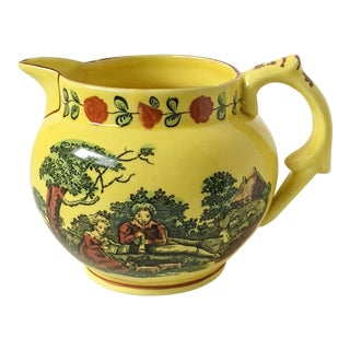 Mottahedeh Double-Sided Yellow Loving Jug