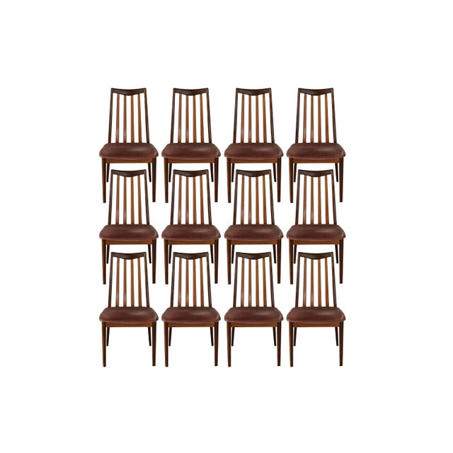 "G Plan ""Fresco"" Dining Chairs - Set of 12 - Image 1 of 4"